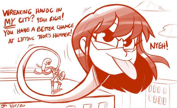 MM vs MODOK (Part 7) YEAH RIGHT!