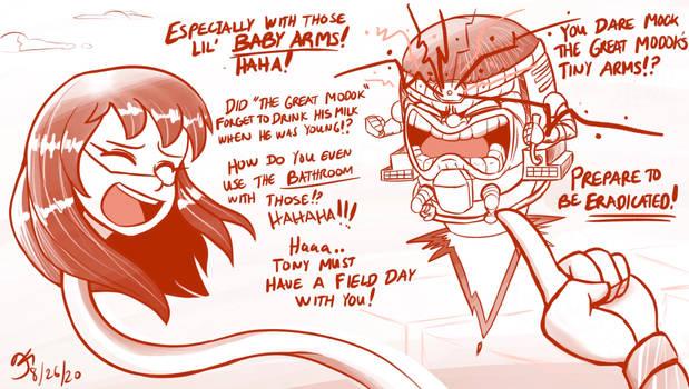 MM vs MODOK (Part 8) Prepare to be Eradicated!!!