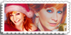 Reba Christmas Stamp by SinginPrincess