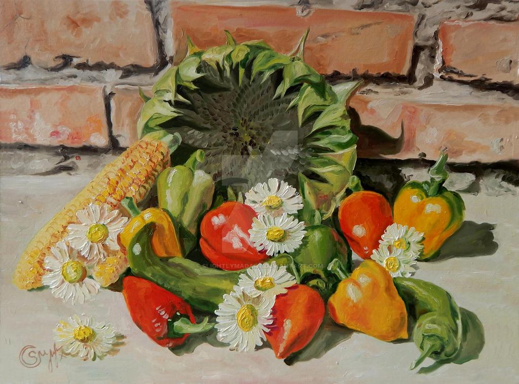 Motley pepper by slightlymadart