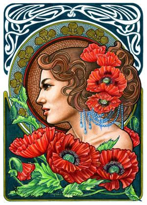 Poppy by slightlymadart