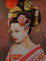 The Empress of China by slightlymadart