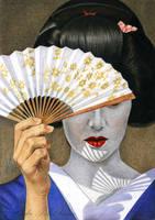 Geisha by slightlymadart