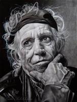 Keith Richards by slightlymadart