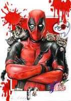 Deadpool by slightlymadart