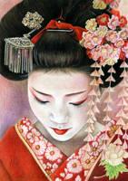 Maiko by slightlymadart