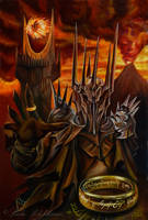 Lord of the rings by slightlymadart