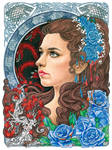 Lyanna Stark by slightlymadart