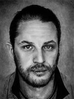 Tom Hardy by slightlymadart