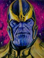 Thanos by slightlymadart