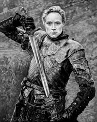 Brienne of Tarth) by slightlymadart