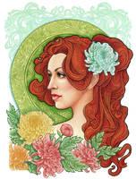 Chrysanthemum by slightlymadart