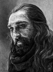 Benjen Stark by slightlymadart
