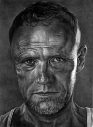 Merle Dixon by slightlymadart
