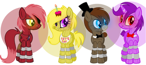 FNAF Ponified :Request: by NiightlyDark