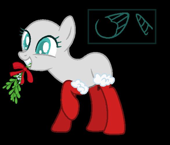 Christmas Base #1 (Re-submit) by NiightlyDark on DeviantArt