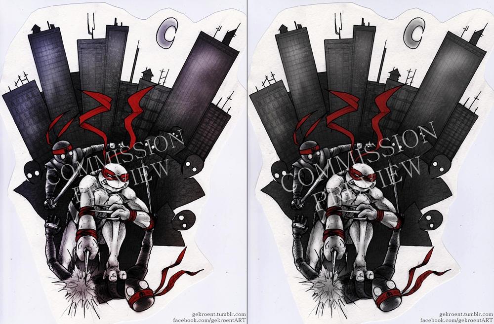 Raphael Tattoo Design Commission By Gekroent On Deviantart