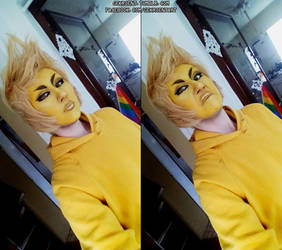 Yellow Diamond makeup