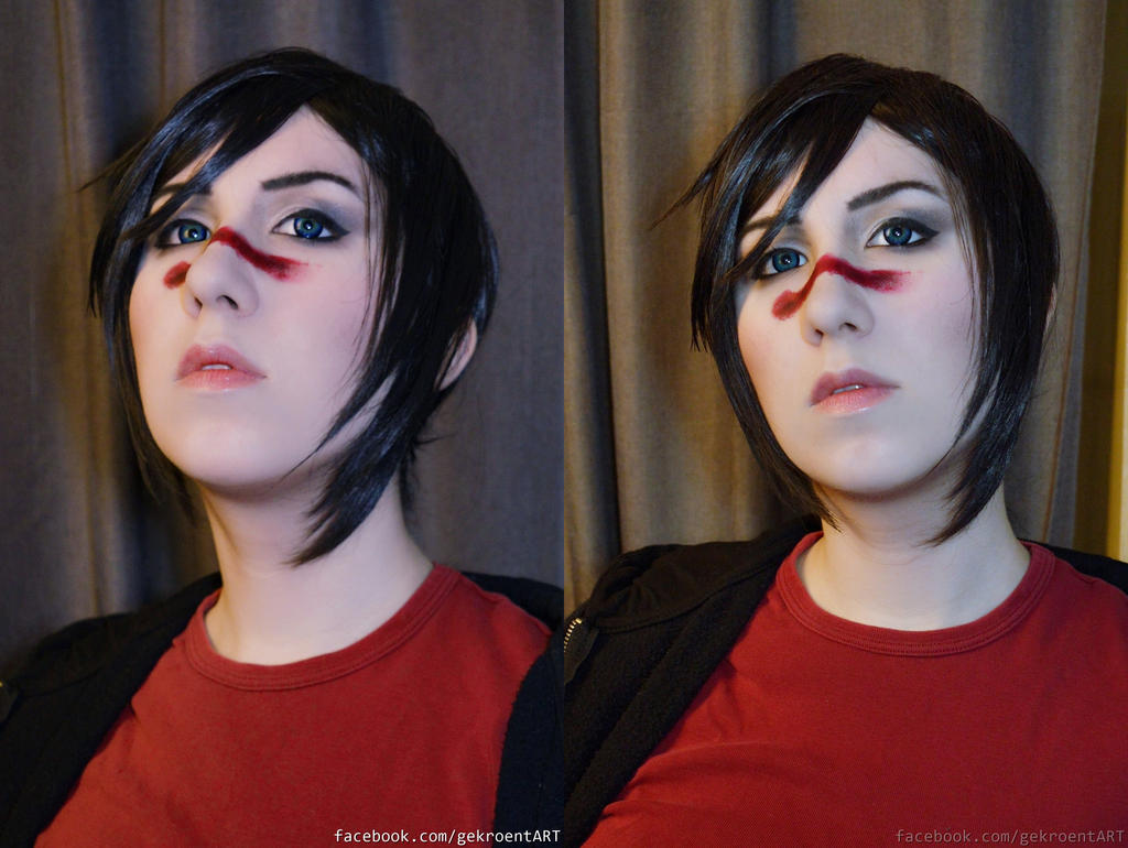Make-up and Wig MARIAN HAWKE by Gekroent