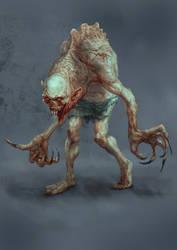 New Mutant Zombie by MilenKalachev