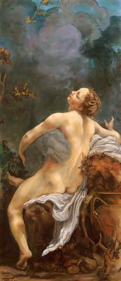 Jupiter and Io - after Correggio