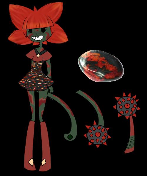 Crystal Gem Adopt: Bloodstone (CLOSED) by SweetieBatch on