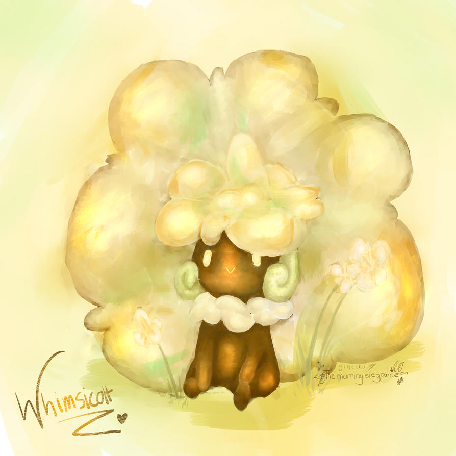Whimsicott by themorningelegance