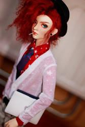 Hipster Leslie by SoftPoison