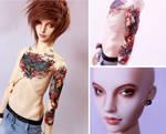 Tattoo Iplehouse carina boy