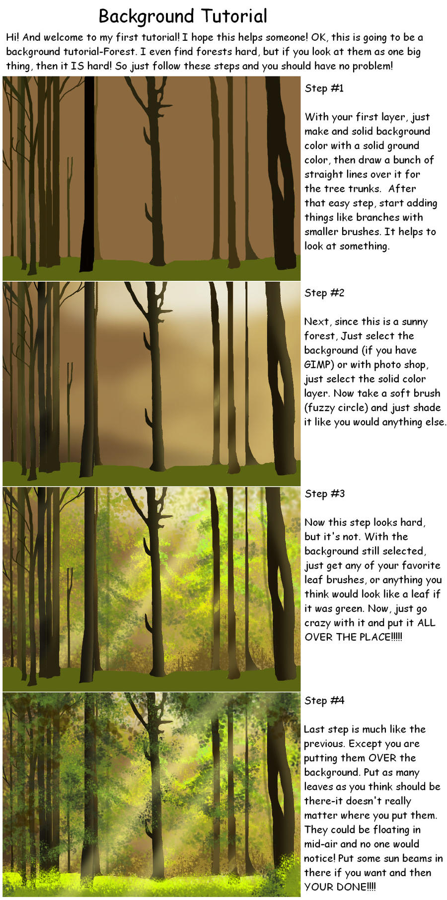 Background Tutorial by kokamo77