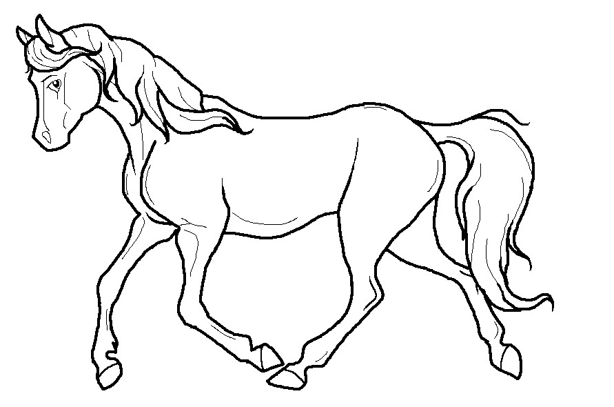 horse drawings to trace horse racing clip art black horse racing clip art free