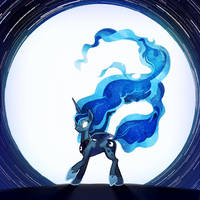 [MLP] Princess Luna by s08080