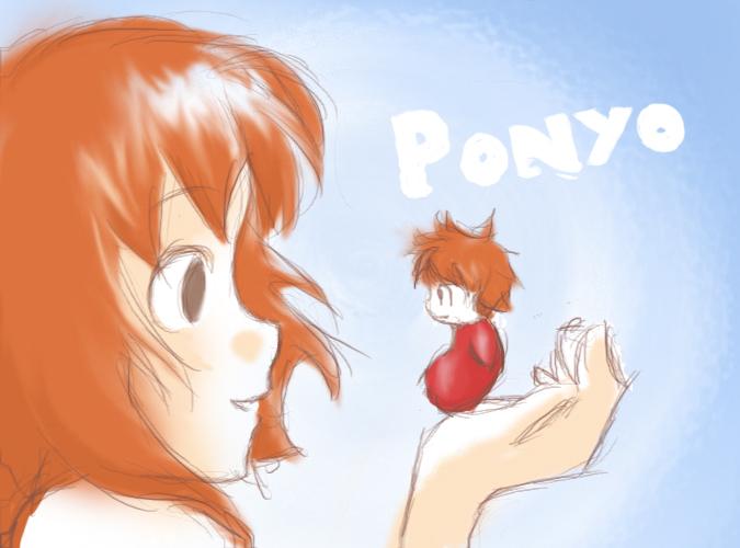 Ponyo by sizzlebrain