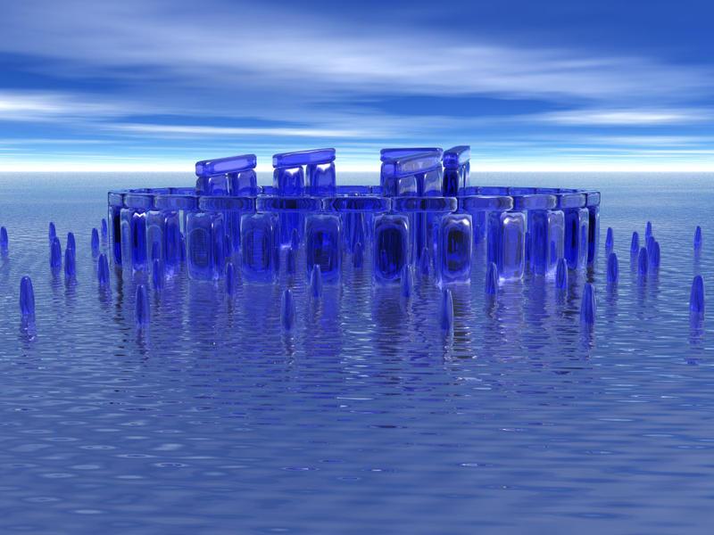 Waterhenge by deathoflight