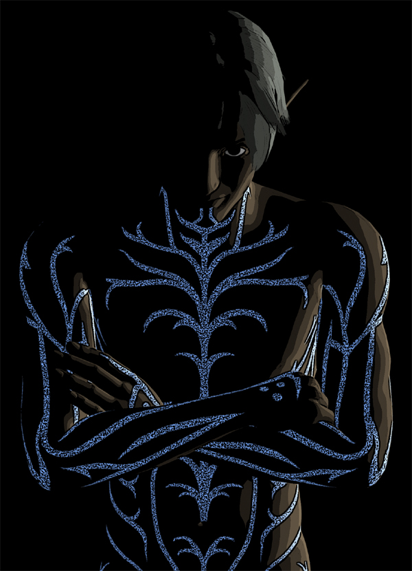 Fenris, Glowing 2 by deathoflight