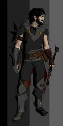 Hawke, Full Gear by deathoflight