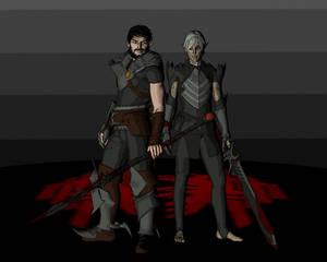 Hawke and Fenris