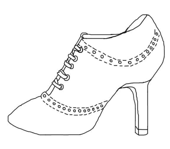 Line Art Shoes : Shoe line art by sakurasyanide on deviantart