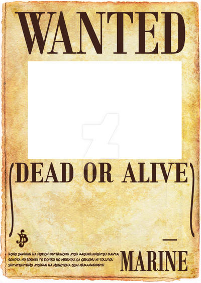 new wanted poster one piece images. Black Bedroom Furniture Sets. Home Design Ideas