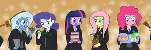 Hogwarts Ponies