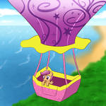 Scootaloo Balloon Ride