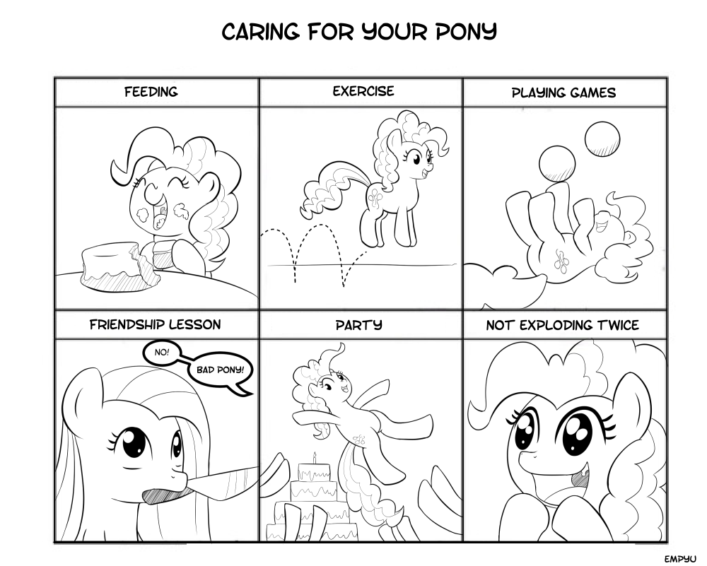 Caring for your Pony - 45MC