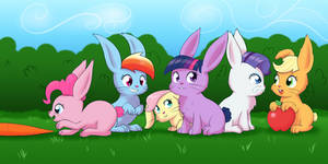My Little Bunnies by Empyu