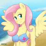 Fluttershy Beach Portrait