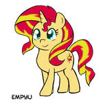 Pony Sunset Shimmer - 30MC