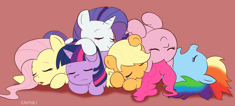 Sleeping Ponies by Empyu