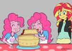 Pinkie Visits Canterlot High - 45MC