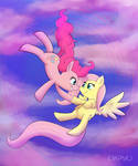 Pinkie Pie Fluttershy Up and Down