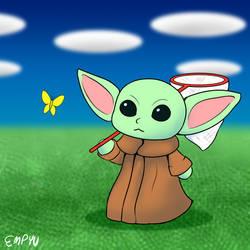 Villager Baby Yoda - 30MC