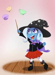 Little Trixie's Teacup Trick